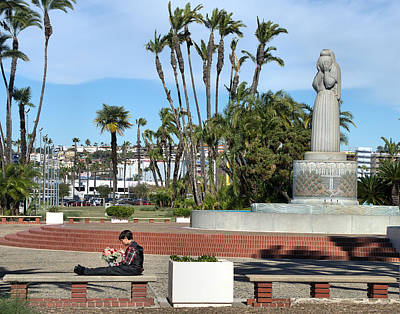 Photograph - San Diego Waterfront Park by Steven Richman