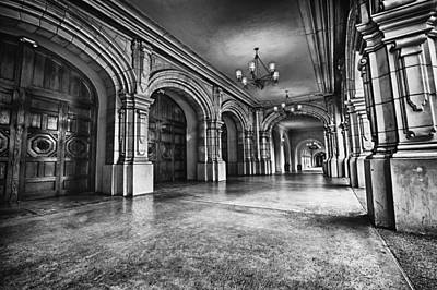 Black And White Photograph - San Diego's Historic Balboa Park by Larry Marshall