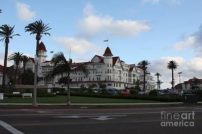 Photograph - San Diego's Hotel Del Coronado by John Telfer