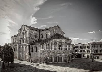 Photograph - San Donato Church In Murano by Roberto Pagani