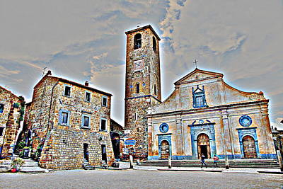 Photograph - San Donato Church by Valentino Visentini