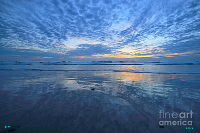 Photograph - San Elijo Blue by John F Tsumas