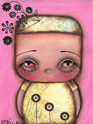 San Fairy  Art Print by  Abril Andrade Griffith