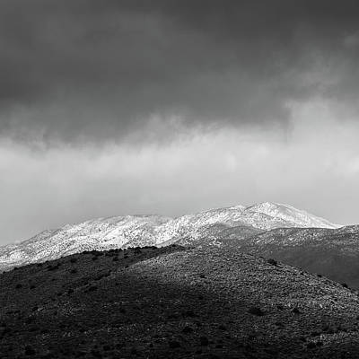 Photograph - San Felipe Valley Snow by Alexander Kunz
