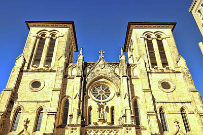 Photograph - San Fernando Cathedral 1 by Judy Vincent