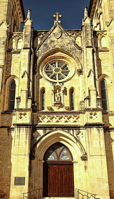 Photograph - San Fernando Cathedral 2 by Judy Vincent