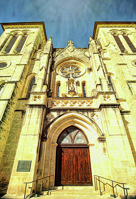 Photograph - San Fernando Cathedral 3 by Judy Vincent