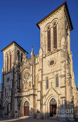 Photograph - San Fernando Cathedral Facade by Inge Johnsson