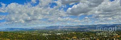 Photograph - San Fernando Valley Panorama by David Zanzinger