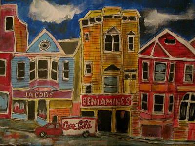 Litvack Painting - San Fran 2 by Michael Litvack