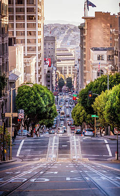 Photograph - San Fran Cable Car by Daniel Murphy