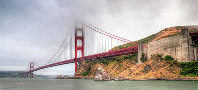Photograph - San Fran Fog by DLP Squared Photography