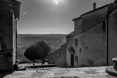 Photograph - San Francesco Monastery - Fiesole, Italia. by Sonny Marcyan