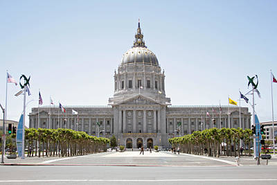 Photograph - San Francisco - City Hall by Masha Batkova