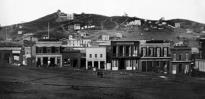 Photograph - San Francisco 1851 by Daniel Hagerman