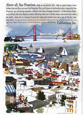 Painting - San Francisco, 1961 by Granger