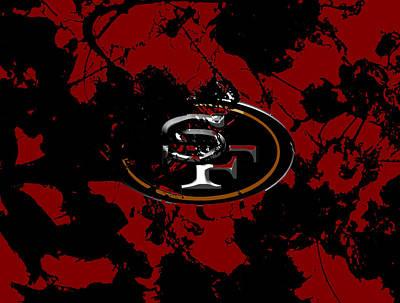 San Francisco 49ers 1b Art Print