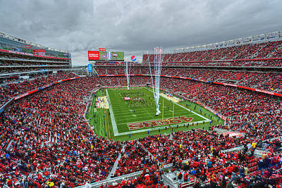 Photograph - San Francisco 49ers Levi's Stadium by Mark Whitt