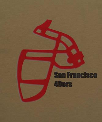 Nfl Photograph - San Francisco 49ers Retro by Joe Hamilton