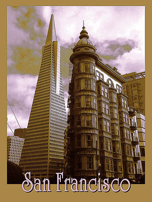 Photograph - San Francisco Architecure Poster by Peter Potter
