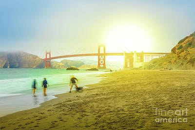 Photograph - San Francisco Baker Beach by Benny Marty