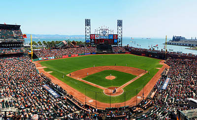 Photograph - San Francisco Ballpark 2 by C H Apperson