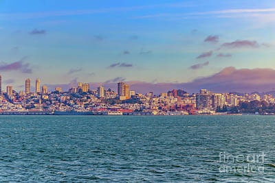 Ocean Sunset Photograph - San Francisco Bay 1 by Claudia M Photography