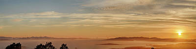 Photograph - San Francisco Bay Area Panorama by Digiblocks Photography
