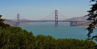 Photograph - San Francisco Golden Gate Bridge by Dean Ferreira
