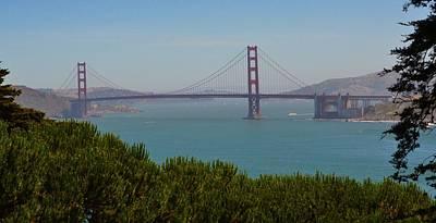 Photograph - San Francisco Golden Gate Bridge by Dean Ferreira
