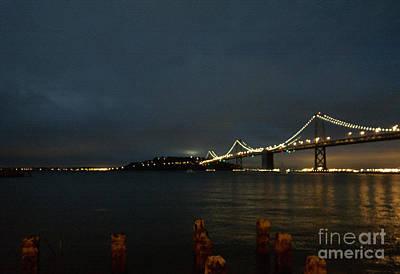 Photograph - San Francisco Bay Bridge by Haleh Mahbod