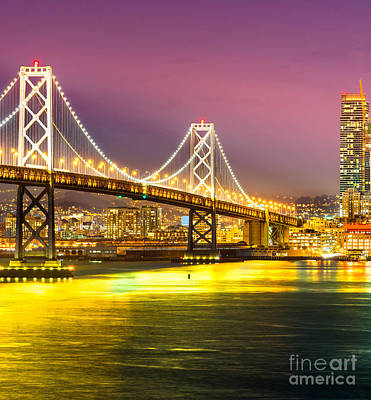 Photograph - San Francisco - Bay Bridge by Luciano Mortula