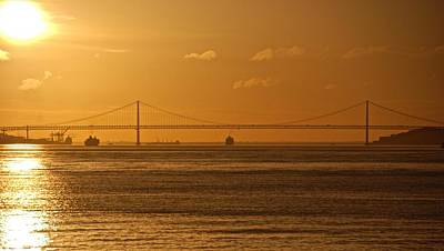 Photograph - 25 De Abril Bridge  by Eric Tressler