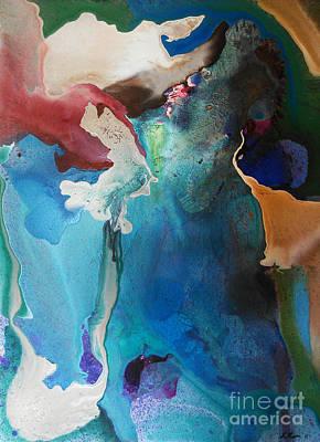 Painting - San Francisco Bay by Ed Becker