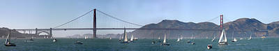 San Francisco Bay Art Print by Gary Lobdell