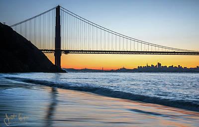 Photograph - San Francisco Bay  by Janet Kopper