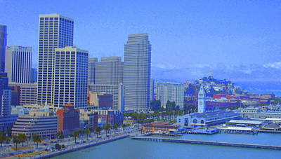 Cityscenes Photograph - San Francisco Bay  by Julie Lueders
