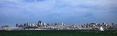 Photograph - San Francisco Bay by Michael Gordon