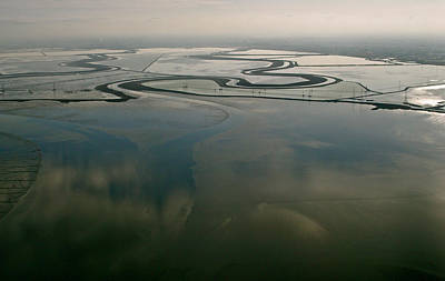 Photograph - San Francisco Bay Salt Flats 2 by Sylvan Adams