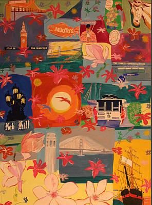 San Francisco Art Print by Biagio Civale