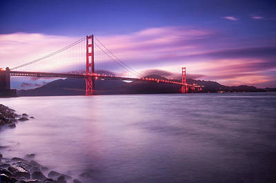 Photograph - San Francisco Bridge by Philippe Sainte-Laudy
