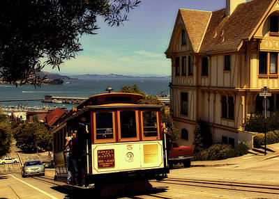 Photograph - San Francisco Cable Car by L O C
