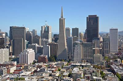 San Francisco California Downtown Architecture. Original by Gino Rigucci