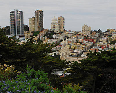 Photograph - San Francisco California Urbanscape by Renee Hong