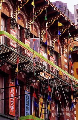 Photograph - San Francisco China Town  by Jim Corwin