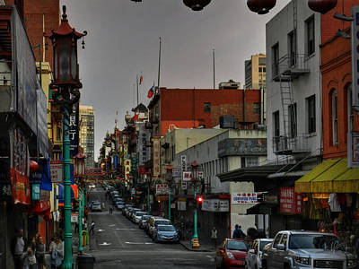 Photograph - San Francisco - Chinatown 001 by Lance Vaughn