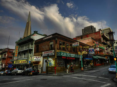 San Francisco - Chinatown 002 Art Print by Lance Vaughn