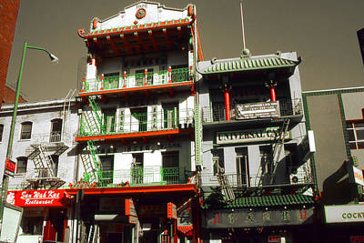 Photograph - San Francisco Chinatown - Highlight by Art America Gallery Peter Potter
