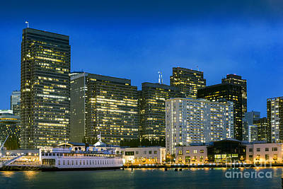 Photograph - San Francisco City By The Bay by David Zanzinger