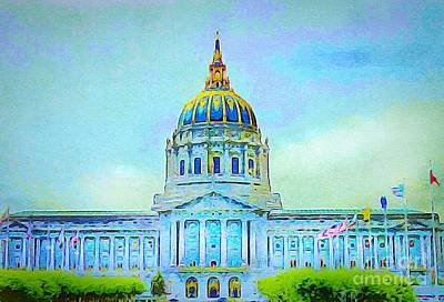 Photograph - San Francisco City Hall by Anne Sands